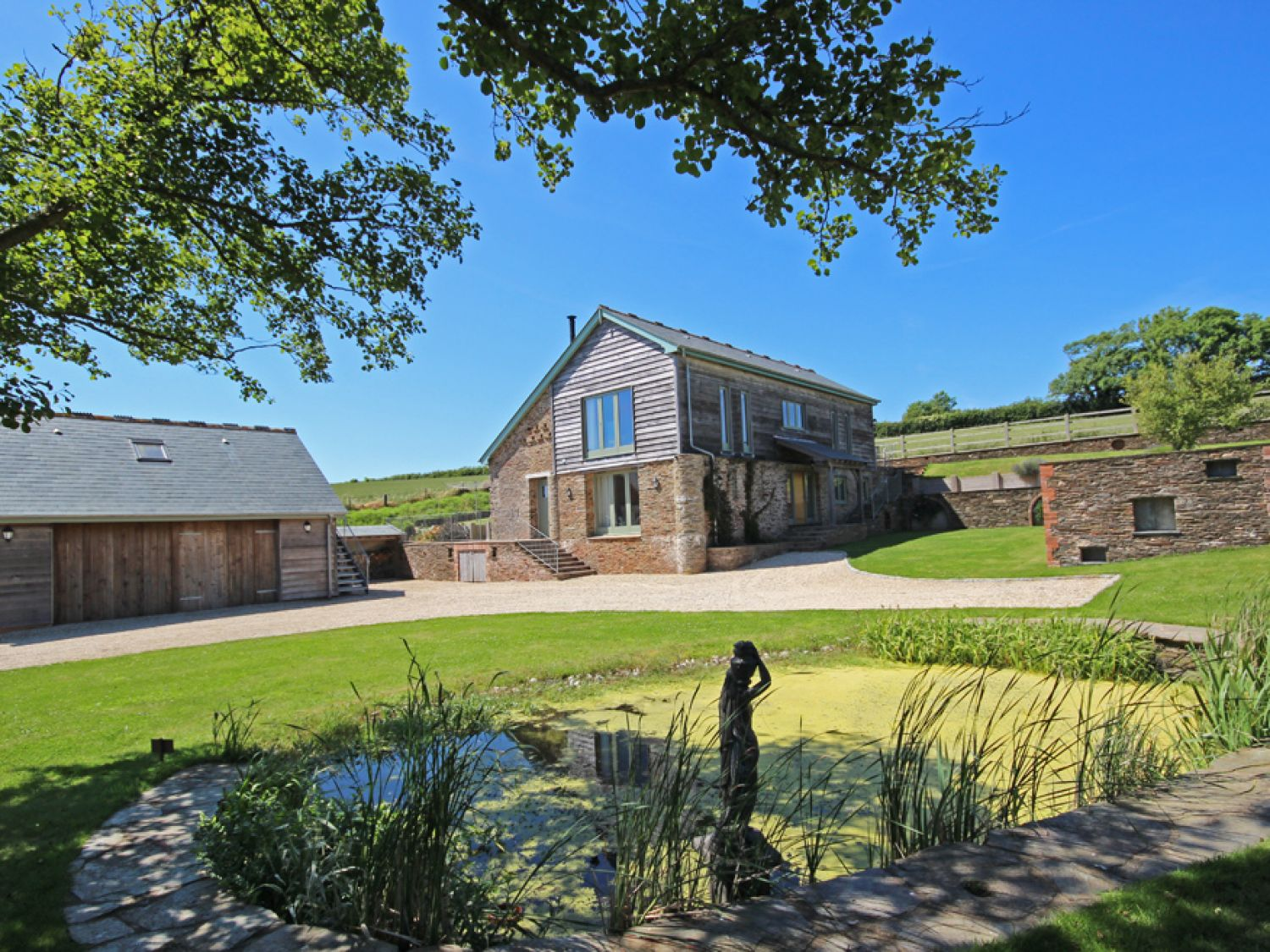 Higher Hill Barn - Devon - 995499 - photo 1